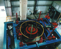 Hydrostatic Pressure Vessel Test Facility - Lid Lift