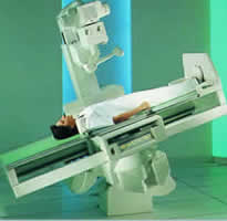 x-ray table positioning system
