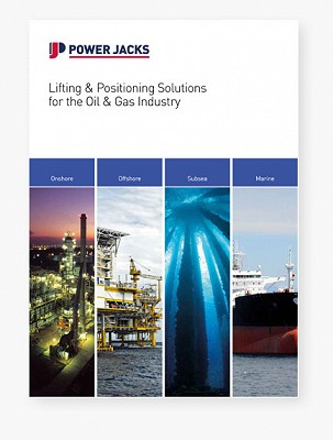 New brochure highlights lifting & positioning solutions for the Oil & Gas industry