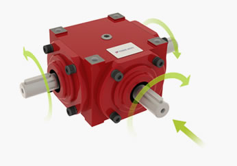 how a bevel gearbox works