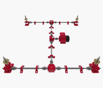 screw jacks, linear actuators, gearboxes, load monitoring