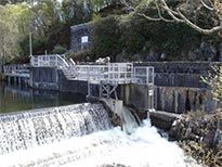 weir gate automation