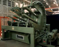 Sheet Metal Bundle Turnover Machine