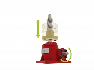 How Does A Rotating Screw Jack Work?