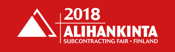 Alihankinta subcontracting trade fair 2018, Tampere, Finland, 25-27 September 2018