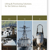 New Defence Industry Brochure for Lifting & Positioning Solutions