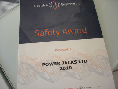 Safety Accolade for Power Jacks