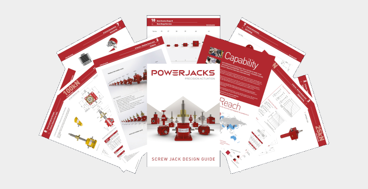 New Screw Jack Design Guide for Automation Solutions