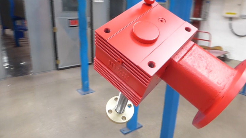 Power Jacks - Sneak Peek - S-Series 50kN with Geared Motor Adapter