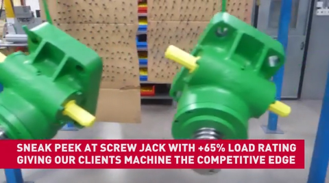 Power Jacks - Sneak Peek - 300kN Green Screws Jacks uprated to 500kN