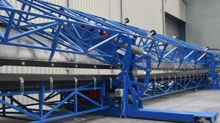 wind turbine blade mould automation