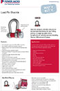 load pin shackle brochure