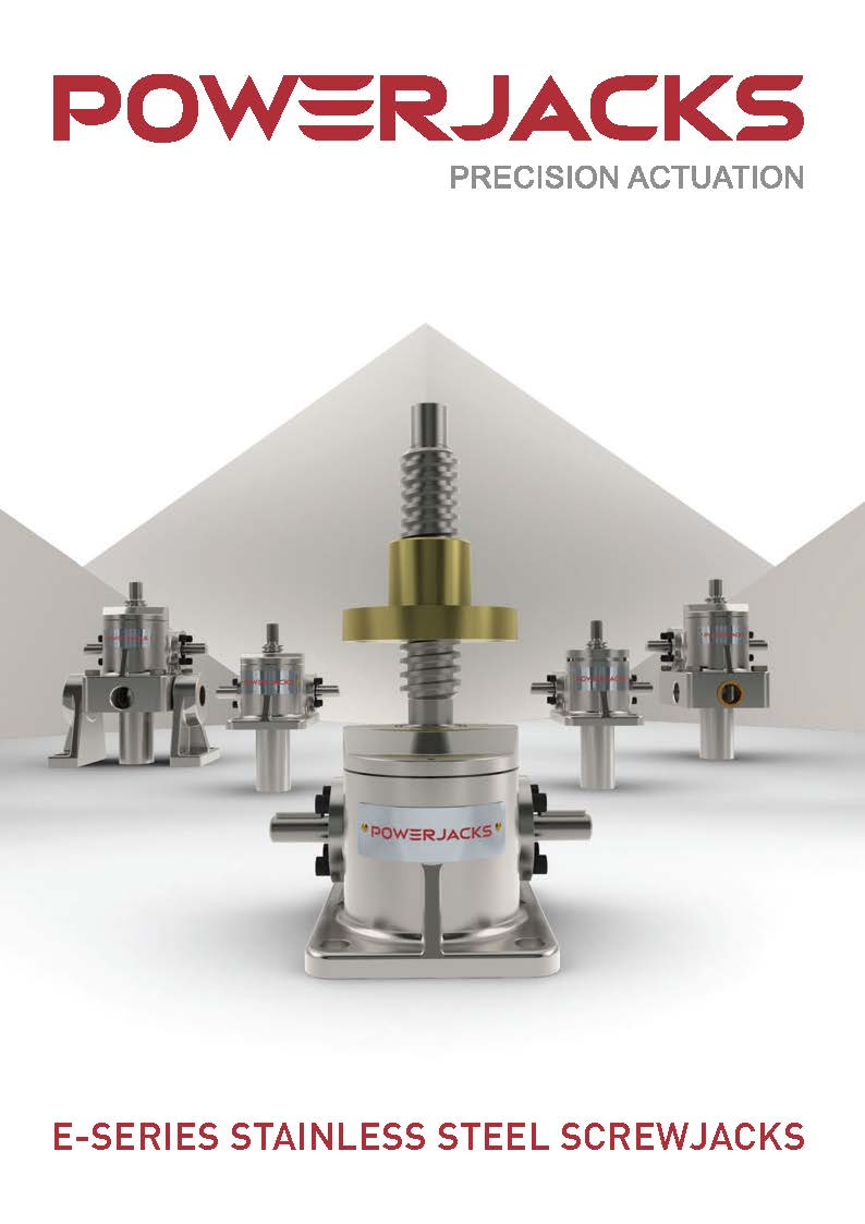 E-Series Stainless Steel Screw Jack Brochure